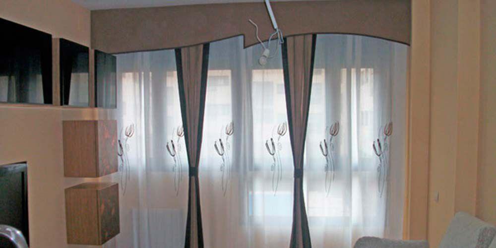 Confecci n de cortinas en madrid dise o de cortinas a medida - Precio de confeccion de cortinas ...